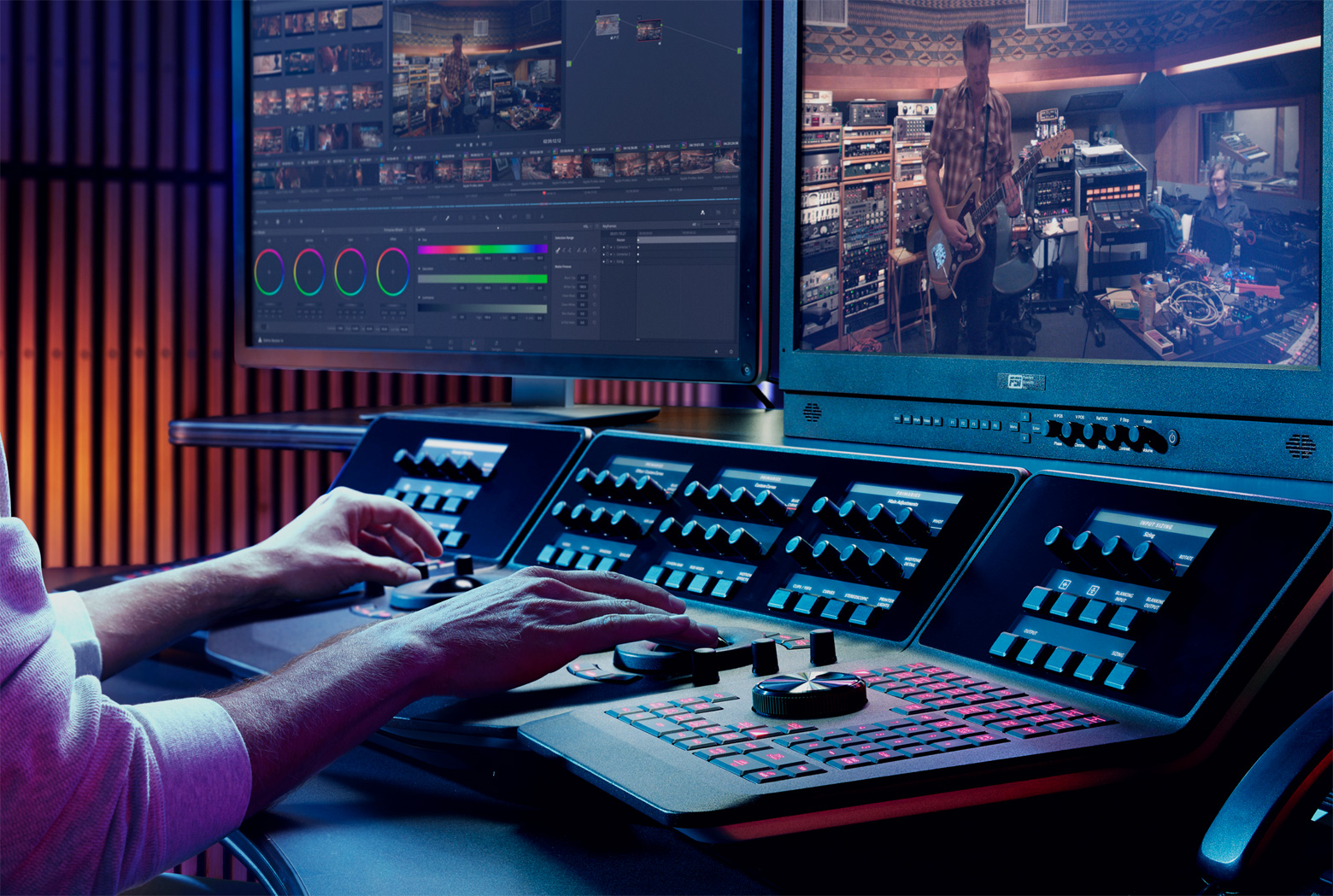 Corsi Color Corrections DaVinci Resolve
